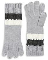 MICHAEL Michael Kors Colorblocked Knit Gloves