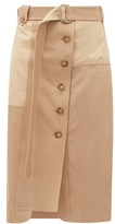 Sportmax Fune Skirt - Womens - Beige