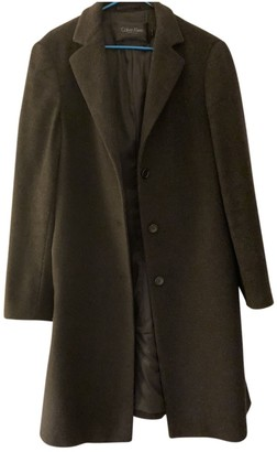 Calvin Klein Collection Black Wool Coat for Women