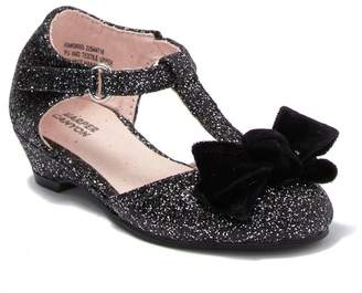 Harper Canyon Glitter Dress Wedge Heel (Toddler)