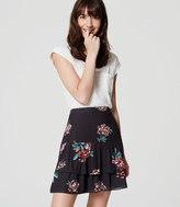 LOFT Hydrangea Flippy Skirt