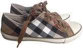 Burberry Low-top canvas trainers