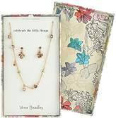 Vera Bradley Womens Holiday Sparkle Jewelry Set