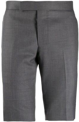 Thom Browne Super 120s Twill Mid Rise Slim Short