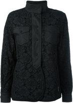 Moncler floral macrame jacket - women - Cotton/Polyamide - 1