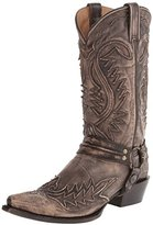 Stetson Men's Overlay Sanded Harness Riding Boot
