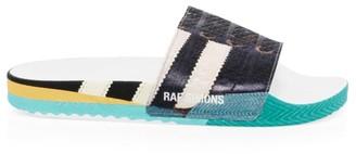 Adidas By Raf Simons Samba Adilette Rubber Slides