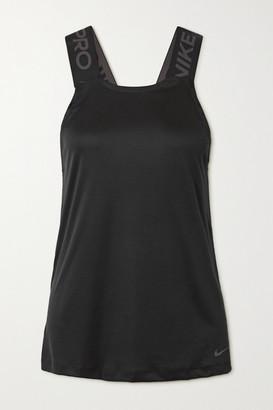 Nike Pro Dri-fit Mesh Tank - Black