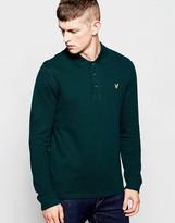 Lyle & Scott Polo Shirt With Eagle Logo Long Sleeves - Green