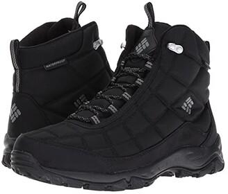 Columbia Firecamp Boot (Black/City Grey) Men's Boots