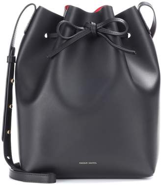 Mansur Gavriel Bucket leather crossbody bag