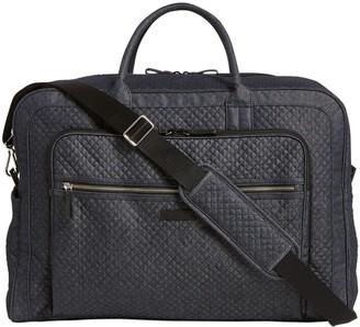 Vera Bradley Denim Iconic Grand Weekender Travel Bag