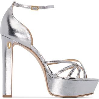 Jennifer Chamandi Roberto platform sandals