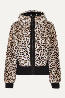 Goldbergh Sunna Reversible Leopard-print Faux Fur Ski Jacket - Leopard print