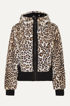 Goldbergh Sunna Reversible Leopard-print Faux Fur Ski Jacket