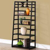 Simpli Home Acadian 5 Shelf Ladder Bookcase