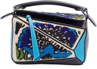 Loewe Puzzle Floral Mini Crossbody Bag