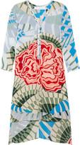 Thakoon Addition Printed kaftan tunic