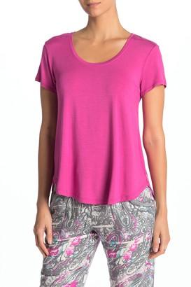 Josie Scoop Neck Knit Pajama T-Shirt