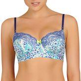 Evollove Bra: Castaspell Lace Full-Figure Long-Line Balconette Bra L25-0020 - Women's