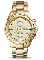 Fossil Sport 54 Chronograph & Date Bracelet Watch