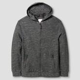 Cat & Jack Boys' Long Sleeve Zip-Up Sweatshirt - Cat & Jack Heather Gray