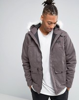 Hype Parka With Faux Fur Hood