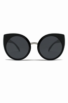 Quay Eyeware China Doll Sunglasses in Black