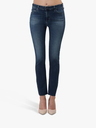AG Jeans The Mari High Rise Slim Straight Leg Jeans, 12 Years Idiosyncratic