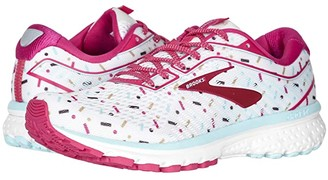 Brooks Zappos 20th x Ghost 12 (White/Beetroot/Turquoise) Women's Running Shoes