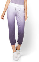 New York & Co. Ombré Cropped Jogger Pant