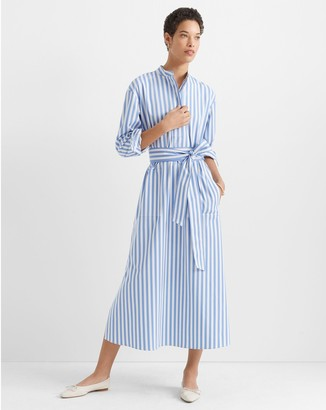 Club Monaco Half-Placket Tunic Dress