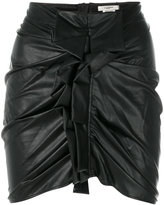 Etoile Isabel Marant skirt with front detail - women - Cotton/Polyethylene/Viscose - 36