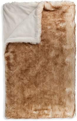 Luxe Faux Fur Faux Fur Throw