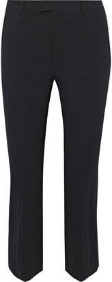 RED Valentino Cropped Wool-blend Slim-leg Pants