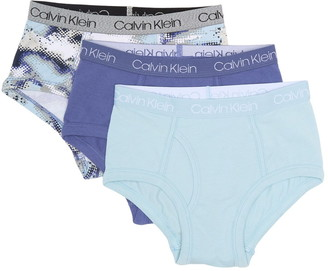 Calvin Klein Cotton Spandex Briefs - Pack of 3
