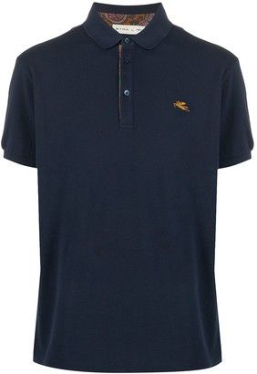 Etro Embroidered Logo Polo Short