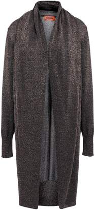 Missoni Draped Metallic Knitted Cardigan