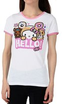 Tokidoki Japanese Character Anime Say Hello Women's Ringer T-Shirt
