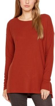 Sanctuary Mina Waffle-Knit Tunic Top