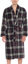 Asstd National Brand Residence Men's Fleece Plush Long Sleeve Robe