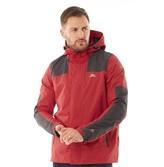 Trespass Mens Waterproof Shell Jacket Red
