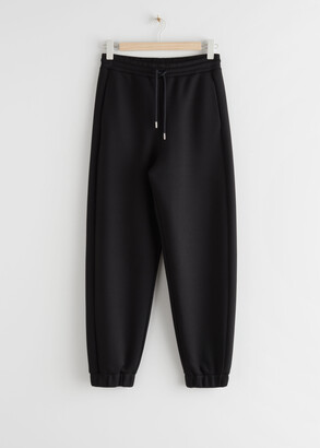 And other stories Oversized Scuba Drawstring Trousers