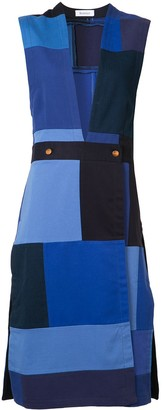 Rodebjer Patchwork Sleeveless Midi Dress