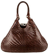 Cole Haan Genevieve Leather Triangle Shoulder Bag