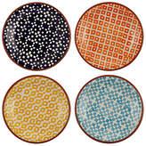 John Lewis Alfresco Tapas Plates, Patterned, Set of 4