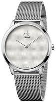 Calvin Klein Minimal Stainless Steel Watch, K3M2112Y