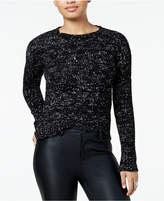 One Hart Juniors' Marled High-Low Sweater, Created for Macy's