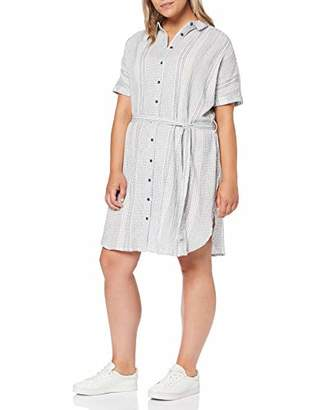 ONLY Carmakoma Women's Carnaomi S/s Shirt Dress Midknee,16 (Size: )