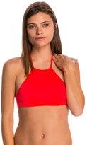 Billabong Swimwear Sol Searcher High Neck Crop Bikini Top 8147243